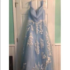 NEW Hebos Prom Dress Size 18
